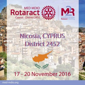 Mediterranean Rotaract Meeting 2016/17 Cyprus @  |  |  |