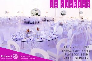 10 years club anniversary of the Rotaract club Nis-Constantine the Great @ Restaurant Perla |  |  |