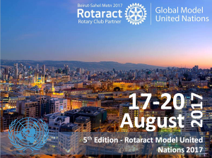 Rotaract Global Model United Nations 2017 @ Beirut  |  |  |